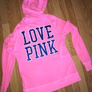 LOVE PINK Zip up hoodie
